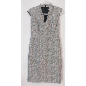 Classiques Enrier Short Sleeve Shift Black Dress 4